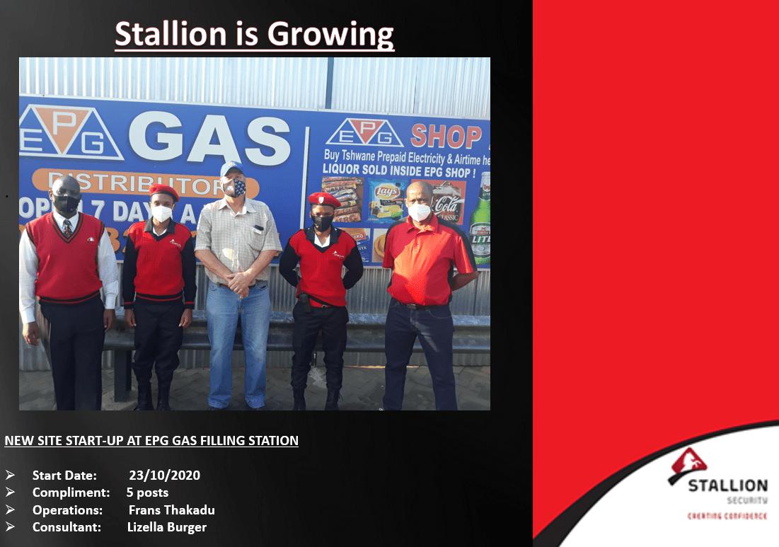 EPG Gas Filling Station